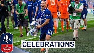 Chelsea Celebrate FA Cup Final Win  Emirates FA Cup Final 201718