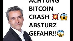 ACHTUNG Achterbahn ‼ 🙈 Bitcoin Kurs Absturz: Kursverlauf Prognose aktuell Bitcoin Preisentwicklung