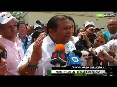 Venezuela - Andrés Velasquez denuncia fraude electoral -VPI