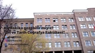Ankara Üniversitesi DTCF Bir Dakika gezebilir miyiz?