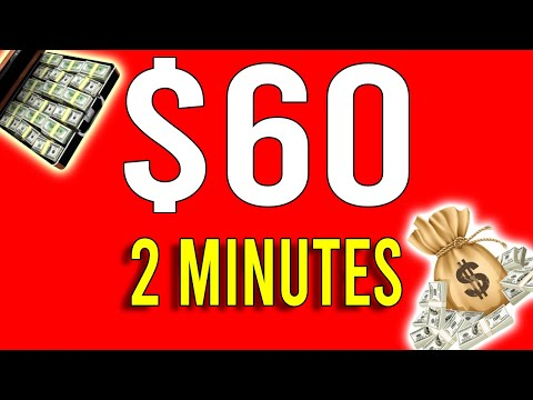 Earn $60 Every 2 Mins! - Easy Way to Make Money Online 2021