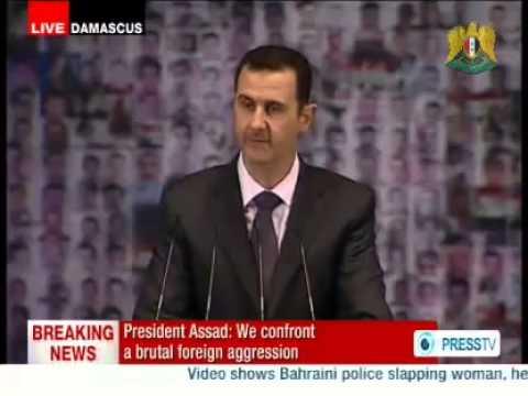 Dr.Bashar al Assad President of the Syrian Arab Repubblic Damascus