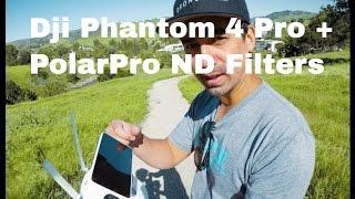 Dji Phantom 4 Pro + Polar Pro ND Filters