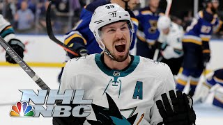 NHL Stanley Cup Playoffs 2019: Sharks vs. Blues | Game 3 Extended Highlights | NBC Sports