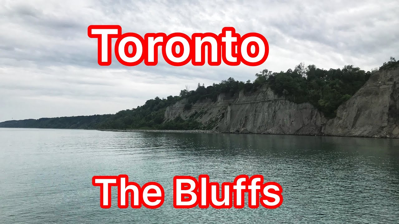 Toronto - The Scarborough Bluffs Park and Beach. Nature Sounds