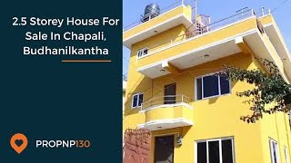 House for sale in Chapali Budhanilkantha (Real Estate in Nepal)
