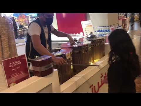 Turkish ice cream dubai mall d 2020 Dec