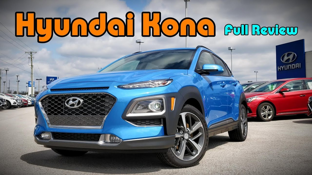 2018 hyundai kona full review ultimate limited sel. Black Bedroom Furniture Sets. Home Design Ideas