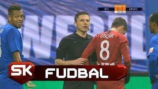 Milorad Mažić Isključio Pogrešnog Igrača na Utakmici Kineske Lige   SPORT KLUB Fudbal