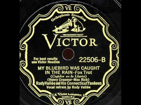 My Bluebird Was Caught In The Rain -Rudy Vallee