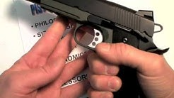 "Springfield Armory ""Operator"" 1911:  Going in Heavy"