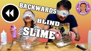 BLIND RÜCKWÄRTS SCHLEIM - Blindfolded Backwards SLIME mit Bilou -Mileys Welt