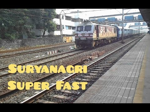 Don't Show Speed Aggression Super Fast Suryanagri Express