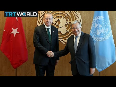Erdogan at the UNGA: Erdogan aims to push Turkey agenda at UN