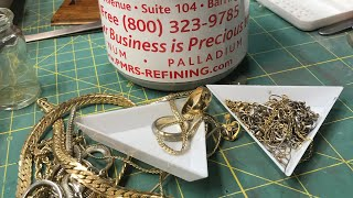 Get $$$ PAID for your Scrap PT 1 Review of Precious Metal Refining Service PMRS -How much $$ back???