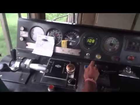 [IRFCA] Rajdhani Express Loco Cab Ride, Inside WDP4B GT46PACe Locomotive