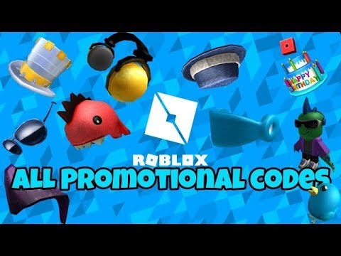 Roblox All Promotional Codes 2019 Old Youtube