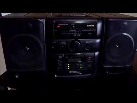 Download Sanyo MCH-S960 6 CD Changer Boombox