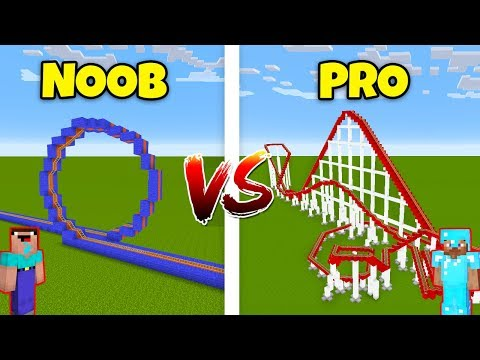 Minecraft NOOB vs. PRO: ROLLERCOASTER in Minecraft! AVM SHORTS Animation thumbnail