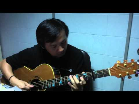Yesterday once more by Ta fingerstyle : Takamine ESF-93 [Ltd-93]