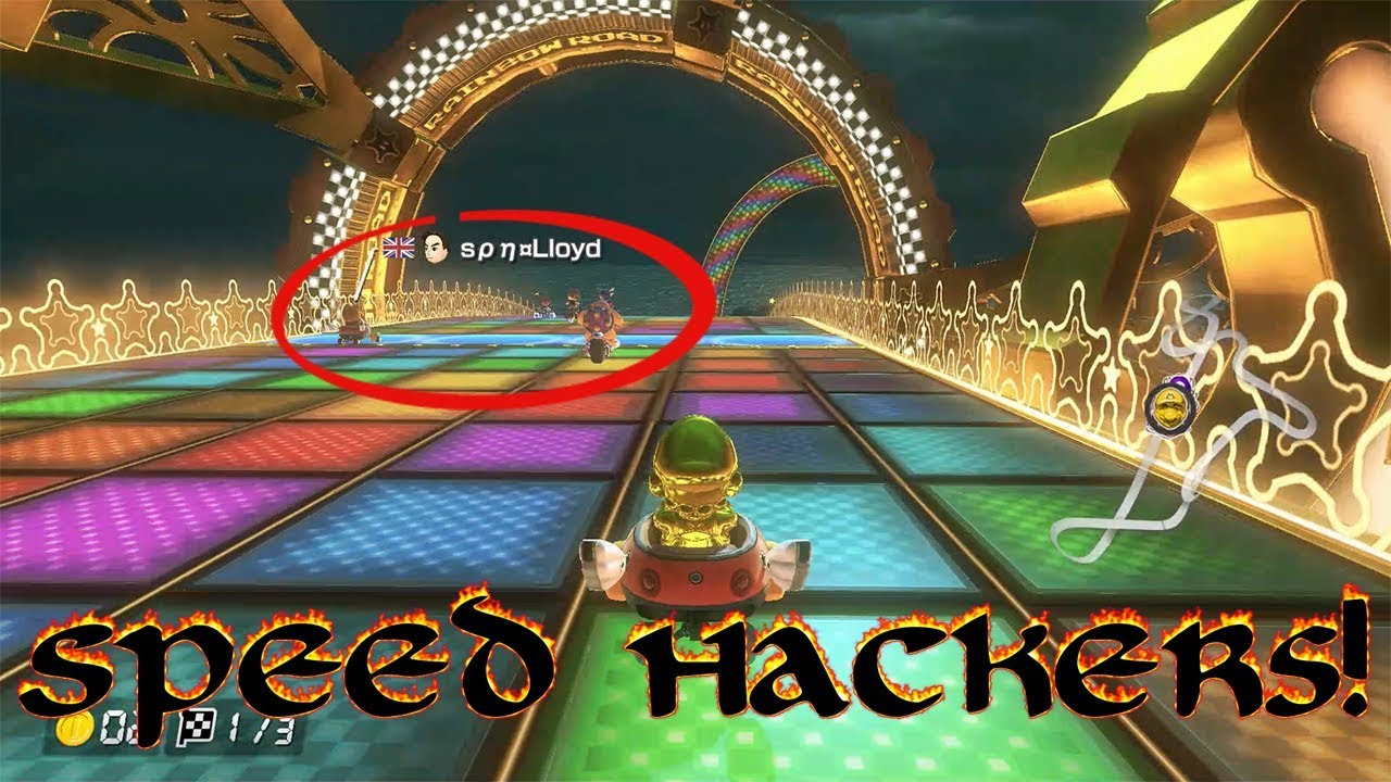how to hack mario kart 8 switch