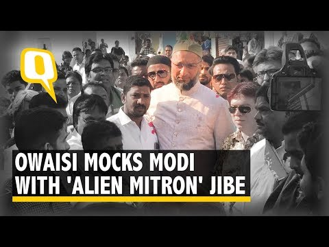 2019 Elections | Modi Govt Turning To Space Because Zero Achievements On Ground: Owaisi | The Quint