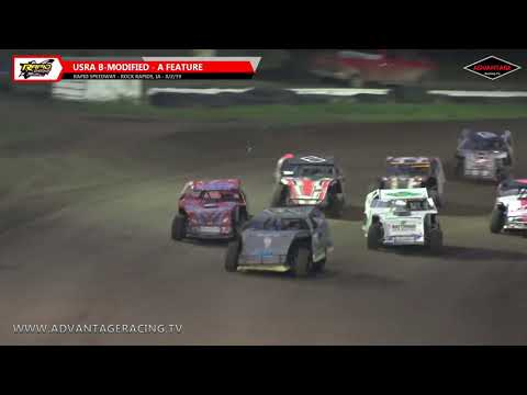 Sportsman/B-Modified Features - Rapid Speedway - 8/2/19
