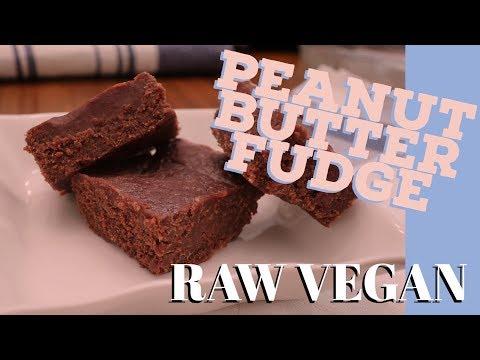 Peanut Butter Fudge | Raw, Vegan