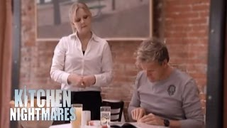 Chef Ramsay Shocked by Lela's Menu - Kitchen Nightmares thumbnail