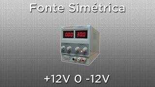 Fonte Simétrica +12V 0 -12V com LM7812 e LM7912 - Circuito Fácil