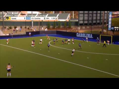 Iowa vs North Carolina - NCAA Field Hockey