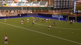 Iowa vs North Carolina - NCAA Field Hockey