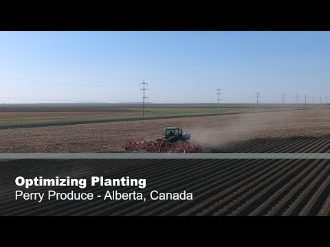Harold Perry: New Planting Practices