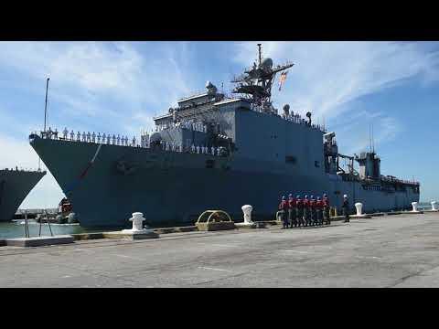 USS Carter Hall (LSD 50) Homecoming
