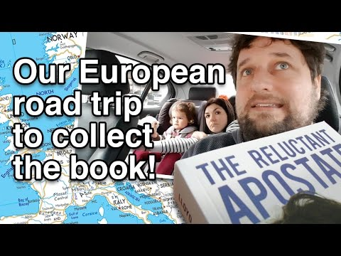 Our European road trip to collect the book! - Cedars' vlog no. 141