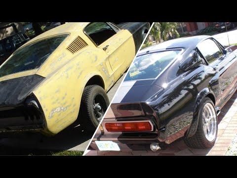 Eleanor #2 1968 Mustang Fastback GT500 - FULL BUILD