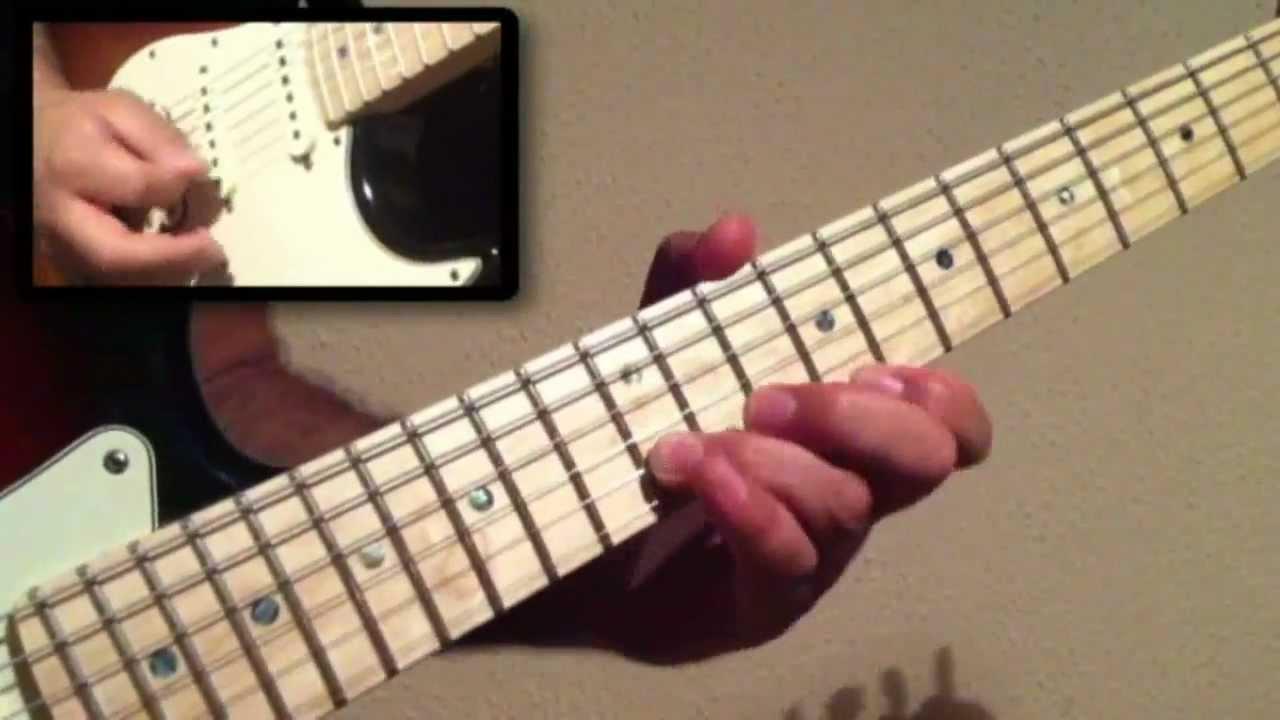 Arabin guitar lick