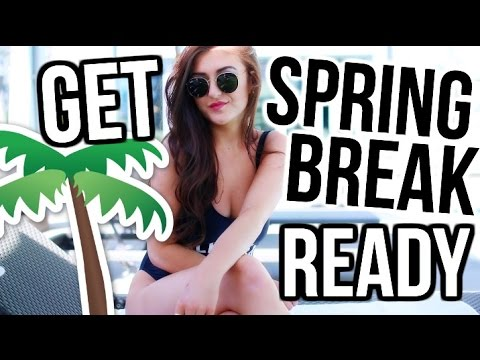 Get SPRING BREAK READY with Me! || Sarah Belle