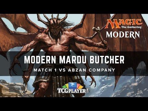 [MTG] Modern Mardu Butcher | Match 1 VS Abzan Company