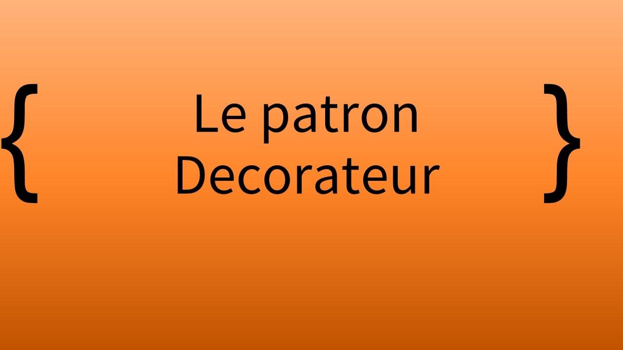 Episode 2 - Le patron decorateur