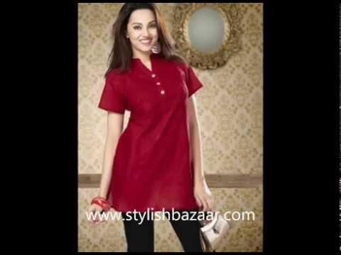 Kurti Designs   Indian Summer Fashions   Cotton Dresses