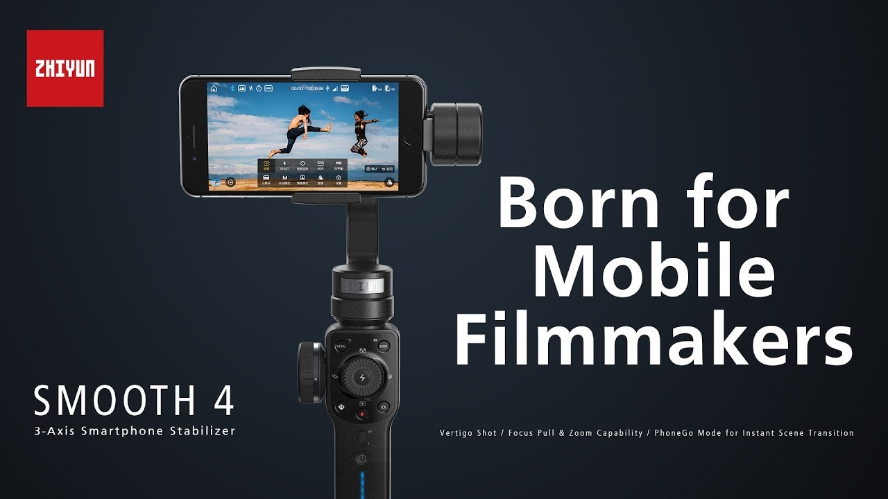 doddleREVIEWS: Zhiyun Smooth 4 Handheld Gimbal Stabilizer