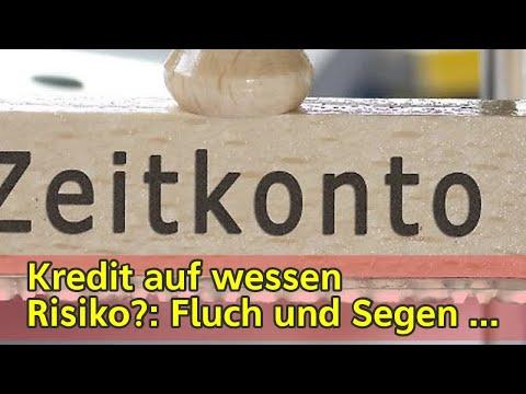 Kredit auf wessen Risiko?: Fluch und Segen von Arbeitszeitkonten - n-tv.de