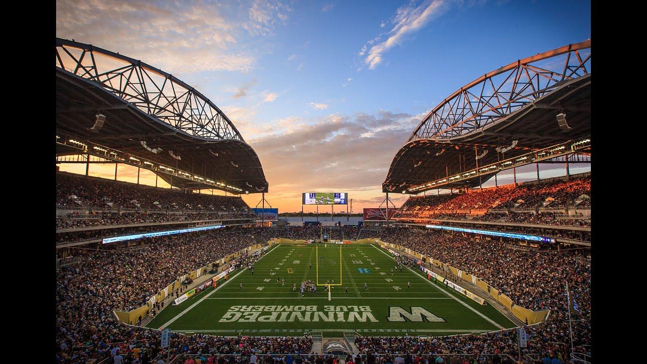 Canadian football field