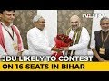 Nitish Kumar's 2019 Deal: 16 Seats For Him, 17 For BJP