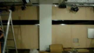 Акустические потолки и спец. освещение в телестудии