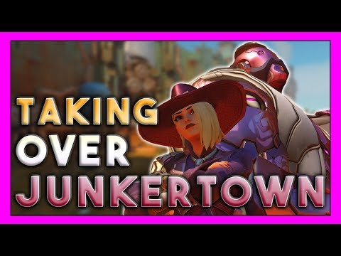 Ashe (And Bob) Taking Over Junkertown! - Seagull - Overwatch thumbnail