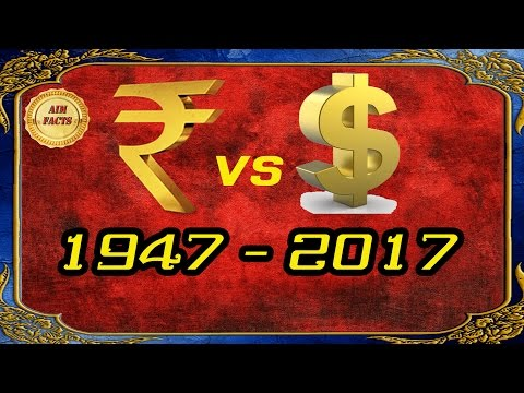 Top 10 Facts | Rupee Vs Dollar | 1947 - 2017 | In Telugu | Rupee Facts | Dollar Dreams | AimFacts