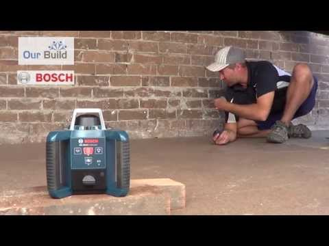 Tool Review, BOSCH GLR 300HV professional rotating laser tool review