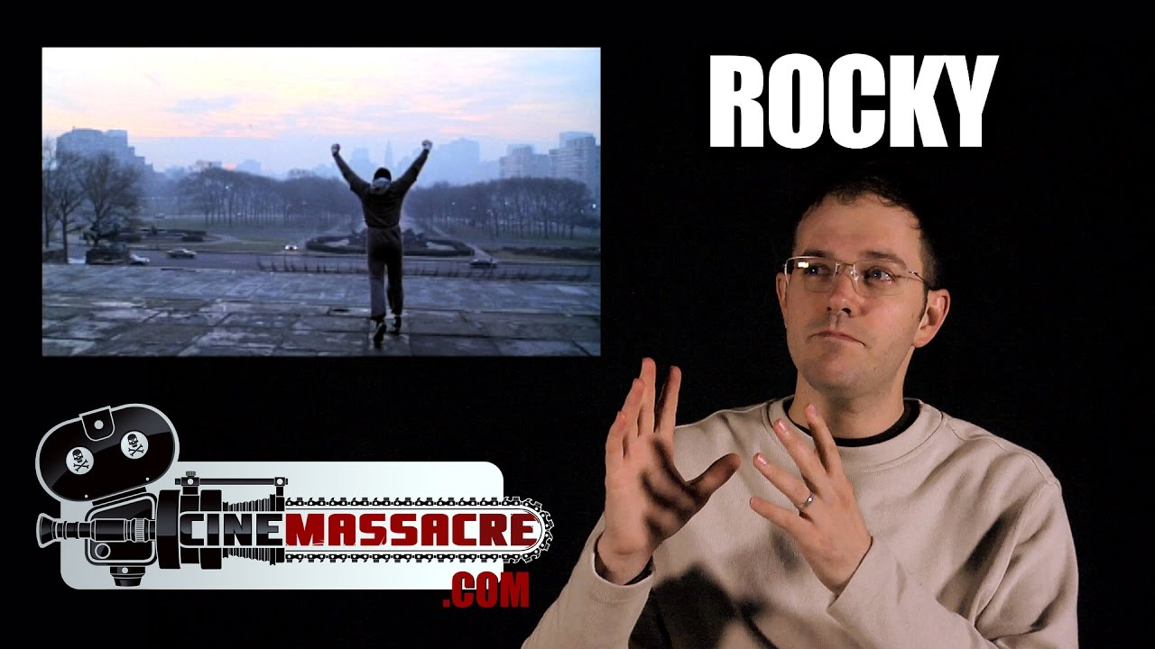 rocky movie series review cinemassacre youtube